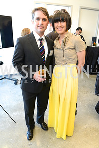 Ben Jenkins, Neda Semnani, The New Republic Office Opening Party.  Friday April 26. Photo by Ben Droz.