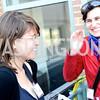 Lydia DePhillis, Amanda Erickson, The New Republic Office Opening Party.  Friday April 26. Photo by Ben Droz.