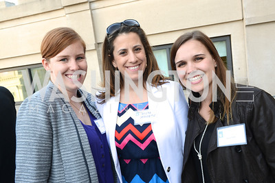 Kate Sullivan, Krista Jenusaitis, Laura Rose, The New Republic Office Opening Party.  Friday April 26. Photo by Ben Droz.