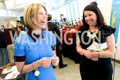 Francie McMahon, Alison Friedrich, The New Republic Office Opening Party.  Friday April 26. Photo by Ben Droz.