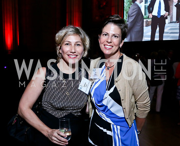 "Debbie Fine, Amy Weiss. Photo by Tony Powell. ""The Presidents' Gatekeepers"" Screening. Mellon Auditorium. September 10, 2013"