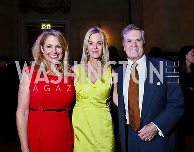 """Rebecca Cooper, Susanna and Jack Quinn. Photo by Tony Powell. """"The Presidents' Gatekeepers"""" Screening. Mellon Auditorium. September 10, 2013"""
