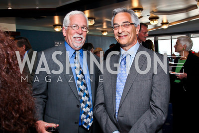 Louis Clark, Mark Cohen. Photo by Tony Powell. The Tenth Annual Ridenhour Prizes. National Press Club. April 24, 2012