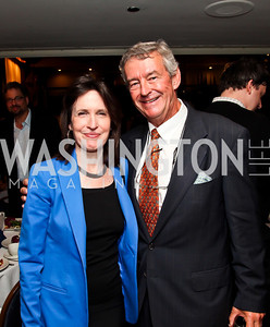 Katrina vanden Heuvel, Amb. Joe Wilson. Photo by Tony Powell. The Tenth Annual Ridenhour Prizes. National Press Club. April 24, 2012