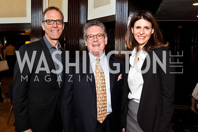 Kirby Dick, Randy Fertel, Amy Ziering. Photo by Tony Powell. The Tenth Annual Ridenhour Prizes. National Press Club. April 24, 2012
