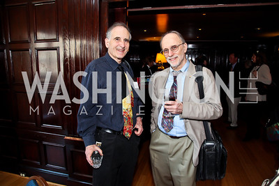 Jerry Dancis, Erich Martel. Photo by Tony Powell. The Tenth Annual Ridenhour Prizes. National Press Club. April 24, 2012