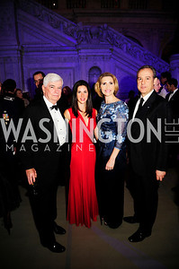 Chris Dodd, Veronica Sarukhan,Jackie Dodd,Mexican Amb.Arturo Sarukhan,April 12.2013. The Washington Ballet's A Moveable Feast;The Hemingway  in Paris Ball,Kyle Samperton
