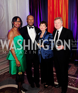 Shirley Allen Marcus,Lloyd Butlaner,Pamela Hanlon,Richard Hanlon,,April 12.2013.The Washington Ballet's  A Moveable Feast;The Hemingway  in Paris Ball,Kyle Samperton
