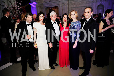 Denis Kenney,Marina Kenney,Chris Dodd, Veronica Sarukhan,Jackie Dodd,Mexican Amb.Arturo Sarukhan,April 12.2013. The  Washington Ballet's A Moveable Feast;The Hemingway  in Paris Ball,Kyle Samperton