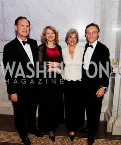 Justice Samuel Alito,Laura Denise Bisogniero,Martha -Ann Alito, Italian Amb.Claudio Bisogniero,April 12.2013. The Washington Ballet's A Moveable Feast:The Hemingway  in Paris Ball,Kyle Samperton
