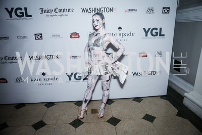 Lena Galperina. Photo by Alfredo Flores. The Young and The Guest List Party 2013. Carnegie Library. December 11, 2013.