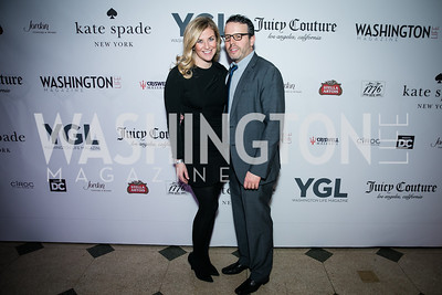 Kiki Burger, Timothy Burger. Photo by Alfredo Flores. The Young and The Guest List Party 2013. Carnegie Library. December 11, 2013.CR2