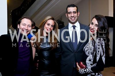 Rodrigo Garcia, Erika Gutierrez, Carlos Gutierrez, Karina Gutierrez. Photo by Tony Powell. 2013 YGL. Carnegie Library. December 11, 2013