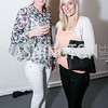 Johanne Eikenes, Sina Lunde. Photo by Alfredo Flores. Transformer opening reception for Terminators. Transformer