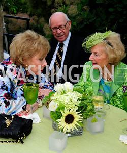 Bonnie Nicholson,Don Larrabee,Ruth Buchanan,May 22,2013,Tudor Place Spring Garden Party,Kyle Samperton