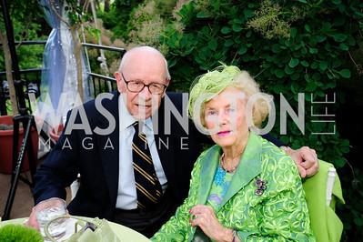Don Larrabee,Ruth Buchanan,May 22,2013,Tudor Place Spring Garden Party,Kyle Samperton