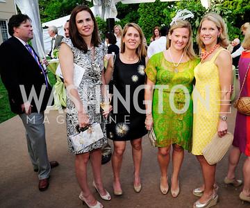Elizabeth Bunting,Dorry Clark,Sassy Jacobs,Blair Bourne,May 22,2013,Tudor Place Spring Garden Party,Kyle Samperton
