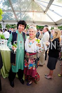 Masood Omari,Abagail Greenway,May 22,2013,Tudor Place Spring Garden Party,Kyle Samperton