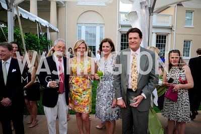 Charles Karelis,Heidi Hatfield,Jane Stetson,Bill Stetson,May 22,2013,Tudor Place Spring Garden Party,Kyle Samperton
