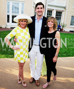 Tina Alster,Terrence Keaney,Myra Moffet,May 22,2013,Tudor Place Spring Garden Party,Kyle Samperton