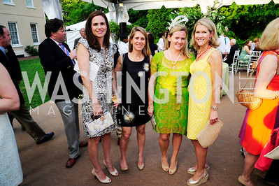 Elizabeth Bunting,Dorry Clark,Sassy Jacobs,Blair Bourne,May 22,2013,Tudor Place Spring Garden Party,Kyle Samperton