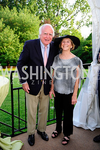 Tom Evans,Mary Page Evans,May 22,2013,Tudor Place Spring Garden Party,Kyle Samperton