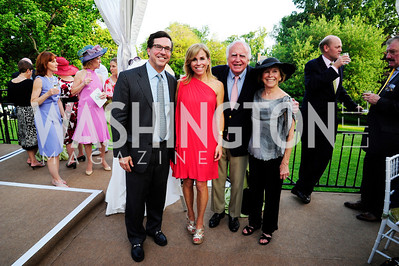 Bobby Schwartz,Page Evans,Tom Evans,Mary Page Evans,May 22,2013,Tudor Place Spring Garden Party,Kyle Samperton