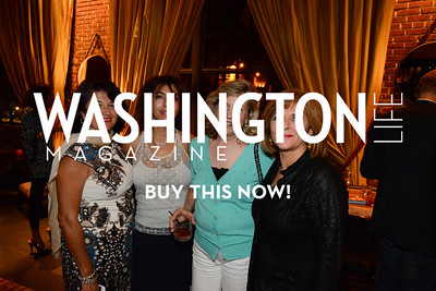 Maria Mariani, Asieh Lefevre, Karen Ostensoe and Roya Kingdom. Urban Escapes / Babette fashion show Ritz-Carlton, Georgetown, Washington, DC.   September 12, 2013 (Photo by Neshan H. Naltchayan)