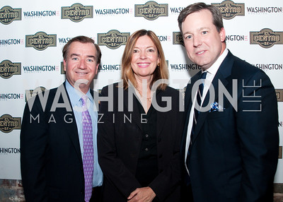 Congressman Royce poses with wife Marie Royce and Ed Henry