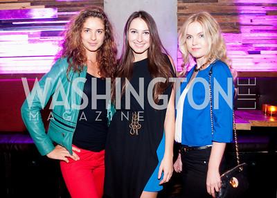Yana Goncharenko, Violetta Hyland and Anastasia Semenenko