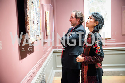 Photo by Alfredo Flores. Viewing and Reception in honor of Heaven and Earth  Art of Byzantium from Greek Collections. National Gallery of Art. December 3, 2013.
