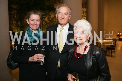 Colleen Daly, Dodge Thompson, Angela LoRe. Photo by Alfredo Flores. Viewing and Reception in honor of Heaven and Earth Art of Byzantium from Greek Collections. National Gallery of Art. December 3, 2013