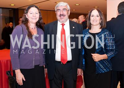 Colleta Youngers, Uruguay Ambassador and WOLA Human Right Award recipient Milton Romani and Sonya Hernandez