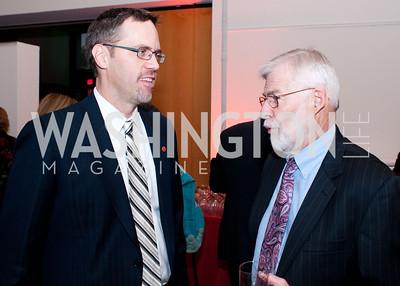Matt Clausen chats with Victor Johnson