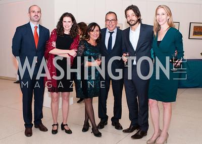 Mauricio Katz, Maureen Meyer, Marcela Turiati, Alfredo Corchado, Diego Luna and Laurie Freeman