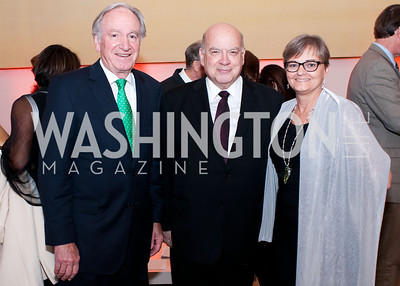 Senator Tom Harkin, Jose Miguel Insulza and Joy Olson