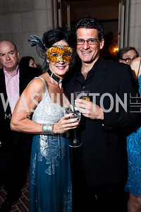 "Deborah Kalkstein and Carlos Bachrach. Photo by Tony Powell. Washington Ballet ""Noche de Pasion."" Brazilian Ambassador's residence. February 9, 2013"