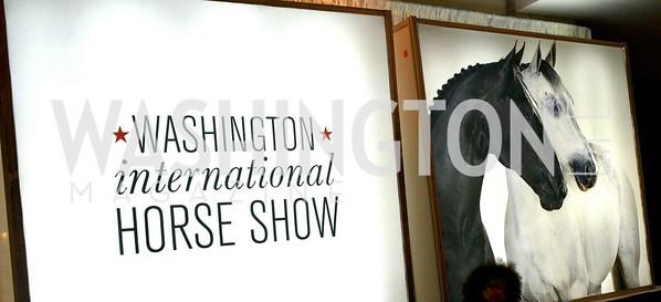 Washington International Horse Show, at the Verizon Center.  October 26, 2013.  Photo by Ben Droz