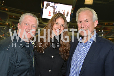 Jim McNerney, Julia McNerney, Tommy Nusz, Washington International Horse Show, at the Verizon Center.  October 26, 2013.  Photo by Ben Droz