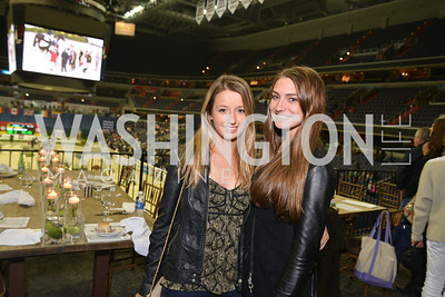 Charlotte Jacobs, Catherine Tyree, Washington International Horse Show, at the Verizon Center.  October 26, 2013.  Photo by Ben Droz
