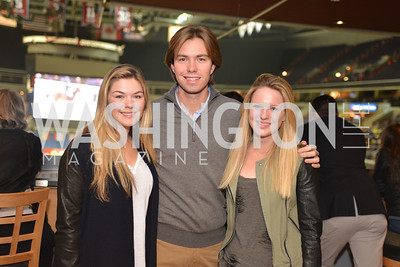 Alexa Boggio, Chual Boggio, Megan MacPherson, Washington International Horse Show, at the Verizon Center.  October 26, 2013.  Photo by Ben Droz