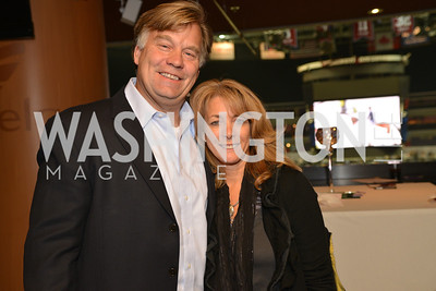 Scott Boggio, Nancy Boggio, Washington International Horse Show, at the Verizon Center.  October 26, 2013.  Photo by Ben Droz