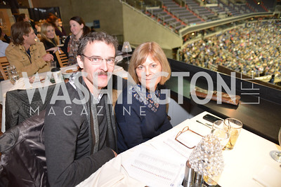 Tom Sedlak, Kathy Stinger, Washington International Horse Show, at the Verizon Center.  October 26, 2013.  Photo by Ben Droz