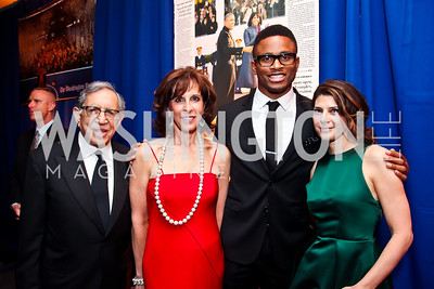 Ron and Beth Dozoretz, San Francisco 49er Nnamdi Asomugha, Actress Marisa Tomei. Photo by Tony Powell. WHC Pre Parties. Hilton Hotel. April 27, 2013