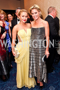 Actresses Hayden Panettiere, Julie Bowen. Photo by Tony Powell. WHC Pre Parties. Hilton Hotel. April 27, 2013