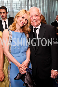 Homeland Actress Claire Danes, Bob Schieffer. Photo by Tony Powell. WHC Pre Parties. Hilton Hotel. April 27, 2013