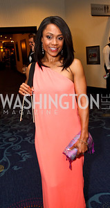 Gymnast Dominique Dawes. Photo by Tony Powell. WHC Pre Parties. Hilton Hotel. April 27, 2013