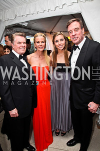 Jack and Susanna Quinn, Eliza and Mark Warner. Photo by Tony Powell. WHC Pre Parties. Hilton Hotel. April 27, 2013