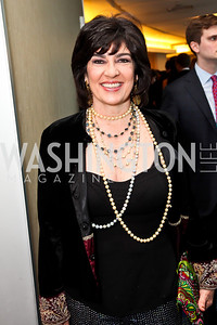 CNN's Christiane Amanpour. Photo by Tony Powell. WHC Pre Parties. Hilton Hotel. April 27, 2013