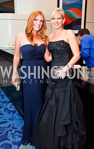 Audrey Jones, FoxNews' Shannon Bream. Photo by Tony Powell. WHC Pre Parties. Hilton Hotel. April 27, 2013